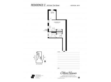 The Oxford Houses, New York City, NY